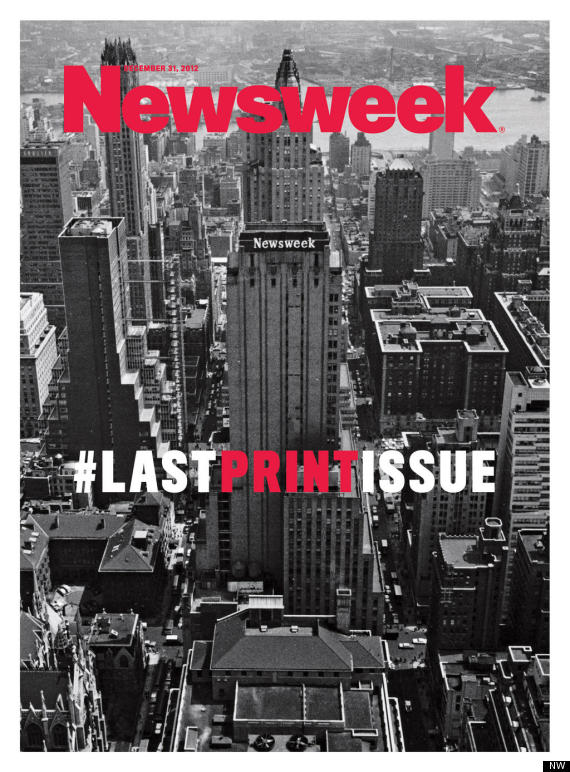 newsweek last issue