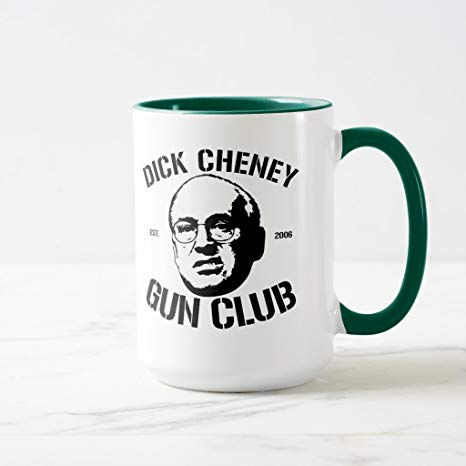 Swimming with Dick Cheney