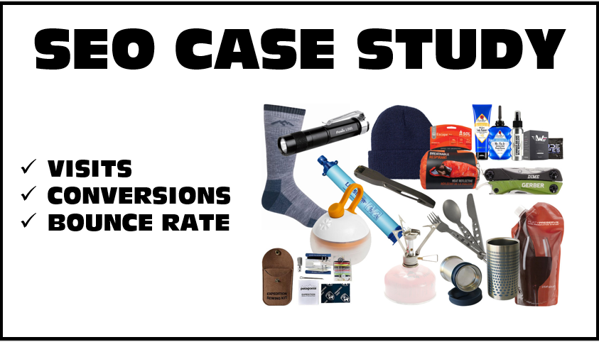 Ecommerce SEO Case Study – Sporting Goods Website
